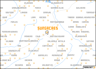 map of Surgacães