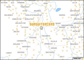 map of Surgui Tercero