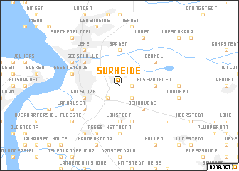 map of Surheide
