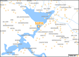 map of Sūrik