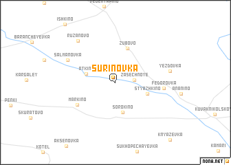 map of Surinovka