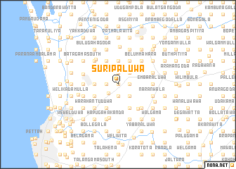 map of Suripaluwa