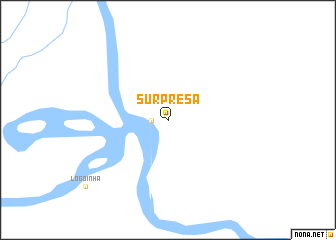 map of Surprêsa