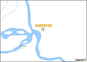 map of Surprêsa