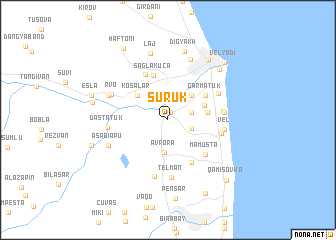 map of Şürük