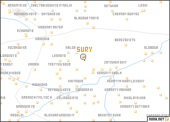 map of Sury