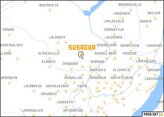 map of Susaguá