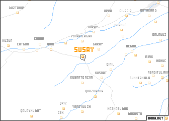map of Susay