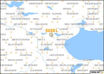 map of Süsel