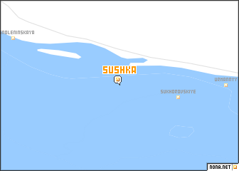 map of Sushka