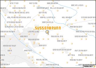 map of Süßenbrunn