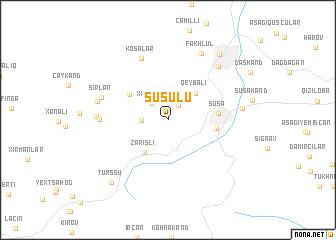 map of Şuşulu