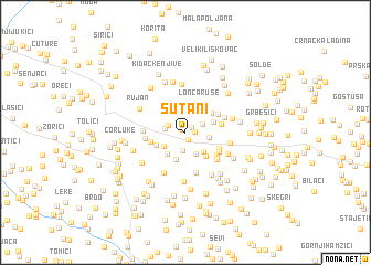 map of Sutani