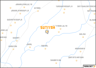 map of Suţīyah