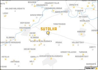 map of Sutolka