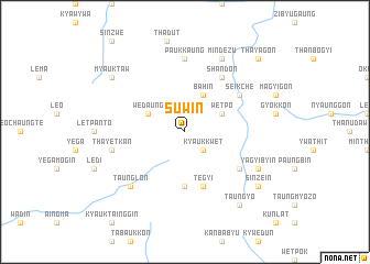 map of Suwin