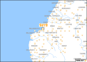 map of Suyo