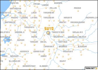 map of Suyo