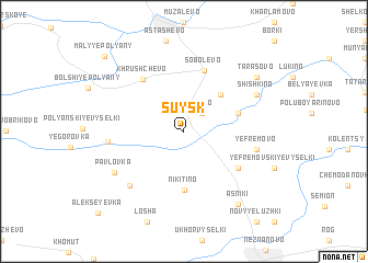 map of Suysk