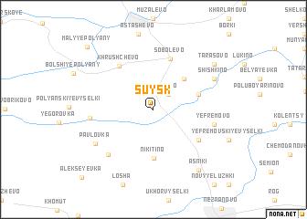 map of Suysk