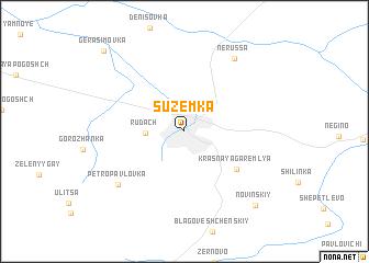 map of Suzëmka