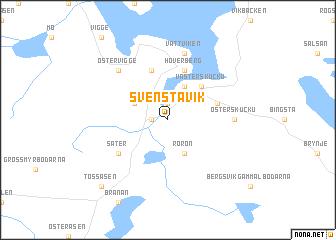 Svenstavik Sweden Map Nonanet - Jamtland sweden map