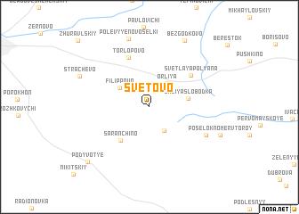 map of Svetovo