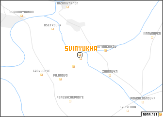 map of Svinyukha