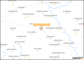 map of Svirdovka