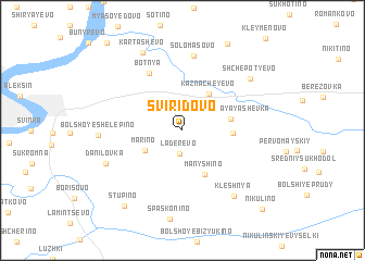 map of Sviridovo