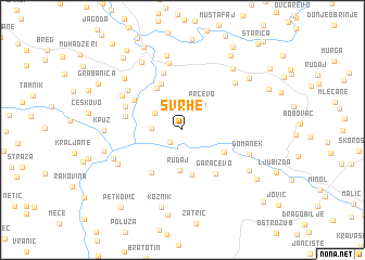 map of Svrhe
