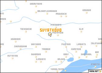 map of Svyatkovo
