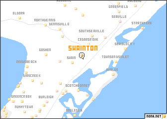 map of Swainton