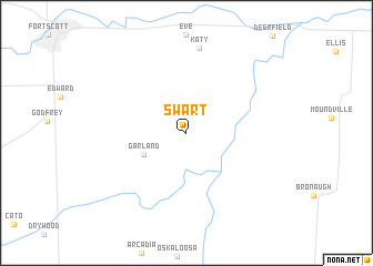 map of Swart