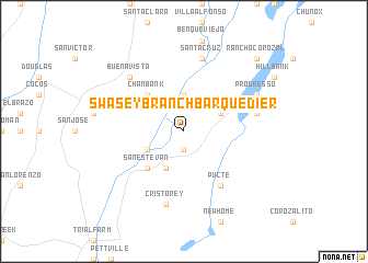 map of Swasey Branch Barquedier
