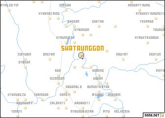 map of Swa Taunggon