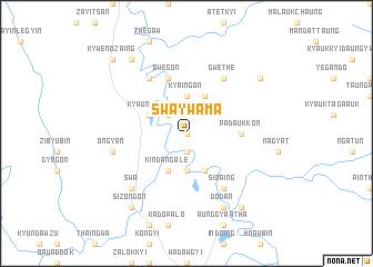 map of Swa Ywama