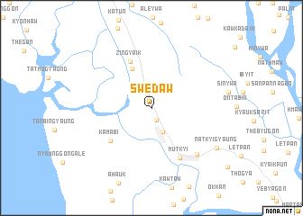 map of Swedaw
