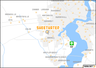 map of Sweetwater