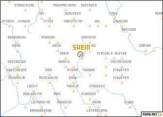 map of Swè-in