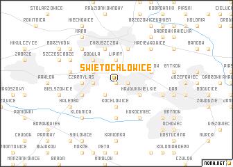 map of Świętochłowice