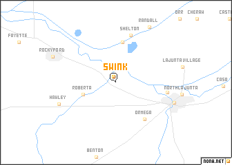 map of Swink