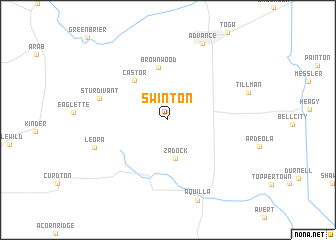 map of Swinton