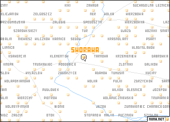 map of Sworawa