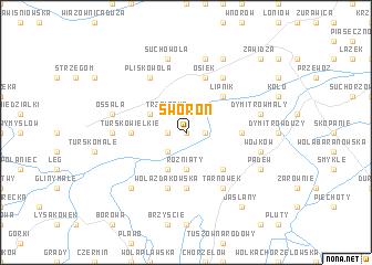 map of Sworoń