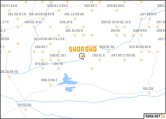 map of Sworowo