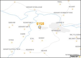 map of Syga