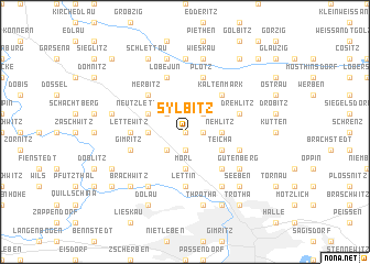 map of Sylbitz