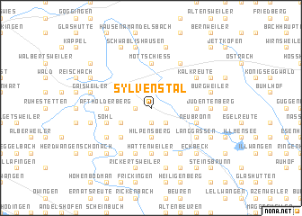 map of Sylvenstal