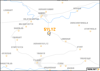map of Sylyz\